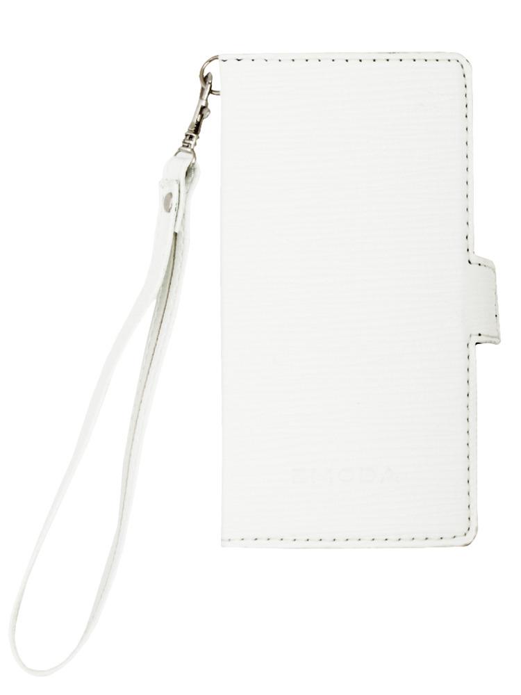 ≪6 対応≫Sout glid I phone case6ストラップ(ホワイト-F)