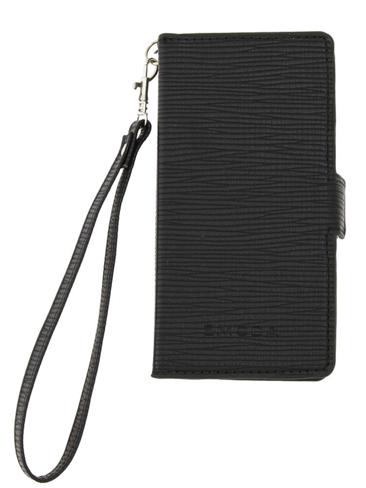 ≪6 対応≫Sout glid I phone case6ストラップ(ブラック-F)
