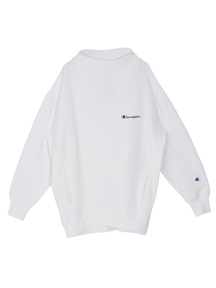 EMODA×Champion RW pocket LONG TOP(ホワイト-F)