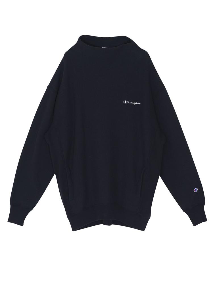 EMODA×Champion RW pocket LONG TOP(ブラック-F)