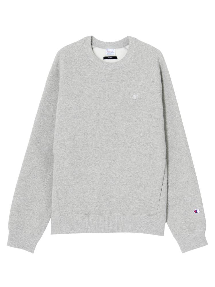 EMODA×Champion terry fleece TOPS(グレー-S)