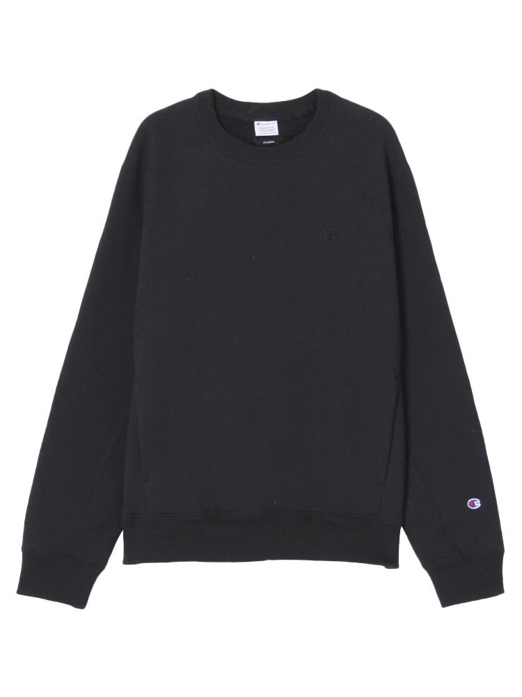 EMODA×Champion terry fleece TOPS(ブラック-S)