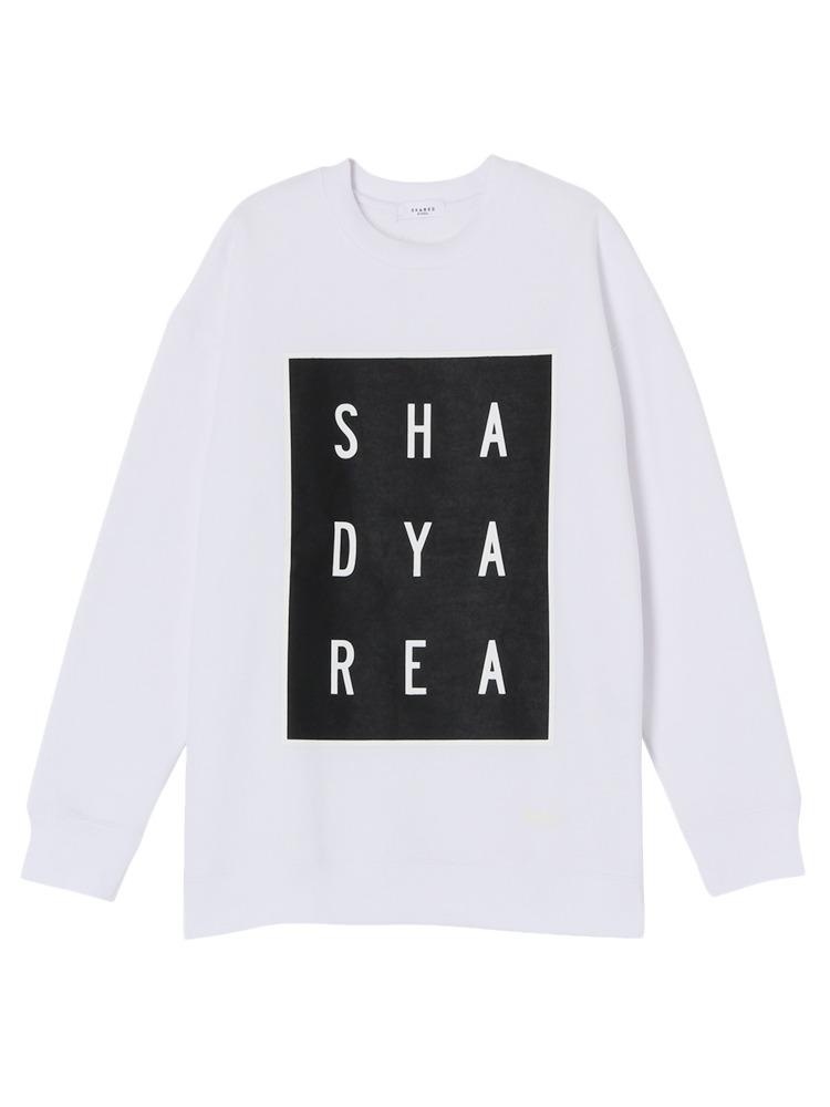 【SHARED】Brushed back AAAプルオーバー(ホワイト-1)