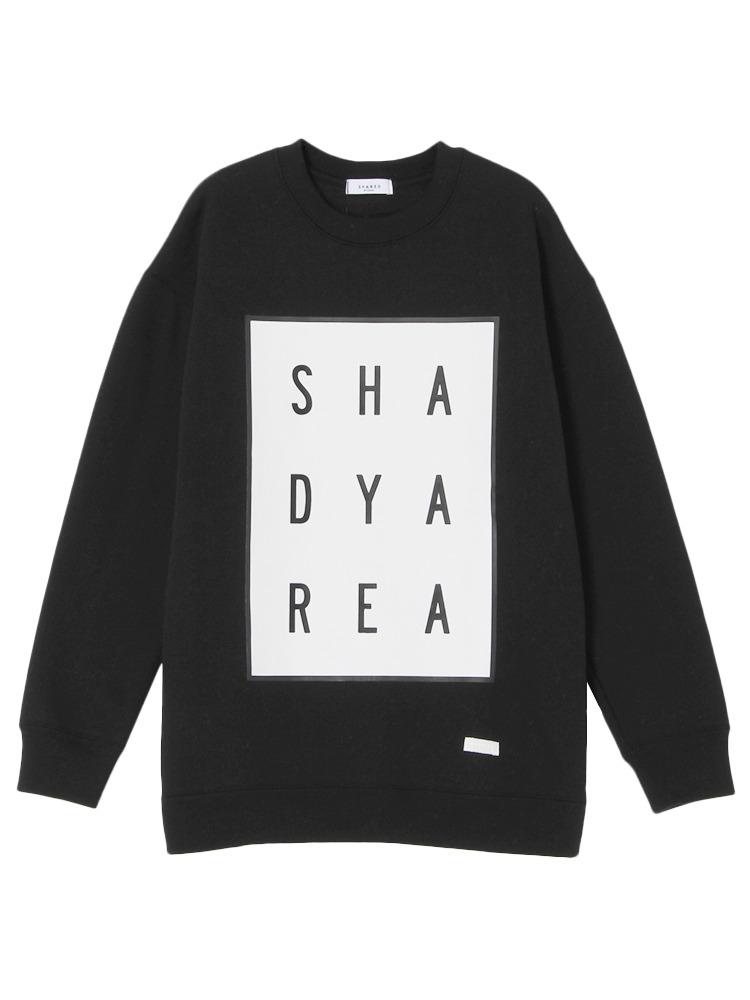 【SHARED】Brushed back AAAプルオーバー(ブラック-1)