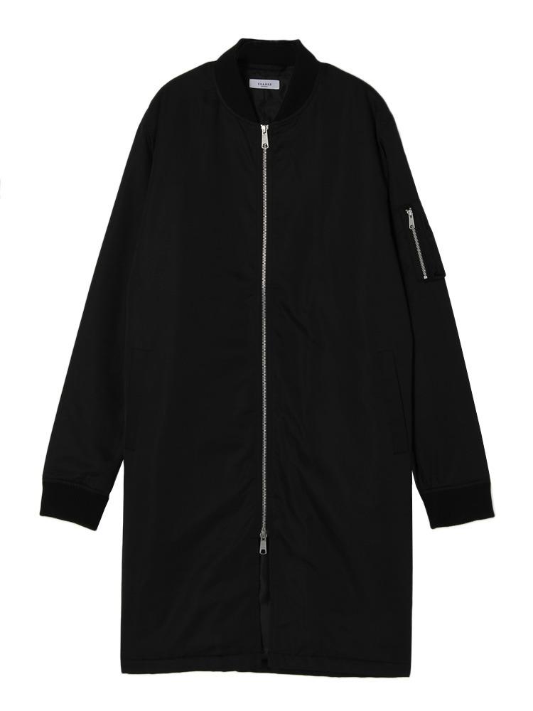 【SHARED】LONG MA-1(ブラック-1)