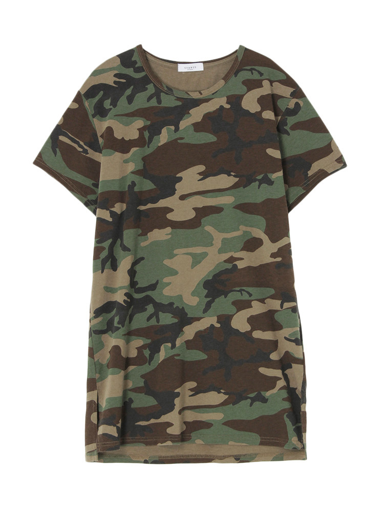 【SHARED】LONG LENGTH SQUARE Tシャツ(ミックス-1)