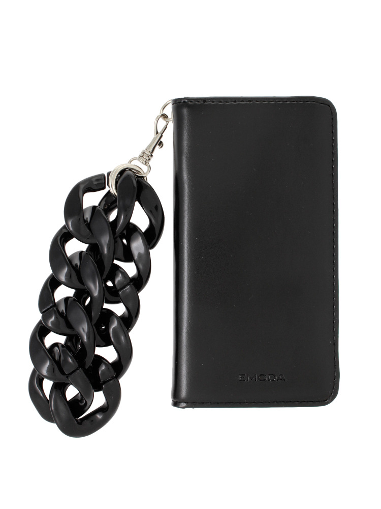 【7対応】Sout I PHONE CASE CHAIN(ブラック-F)