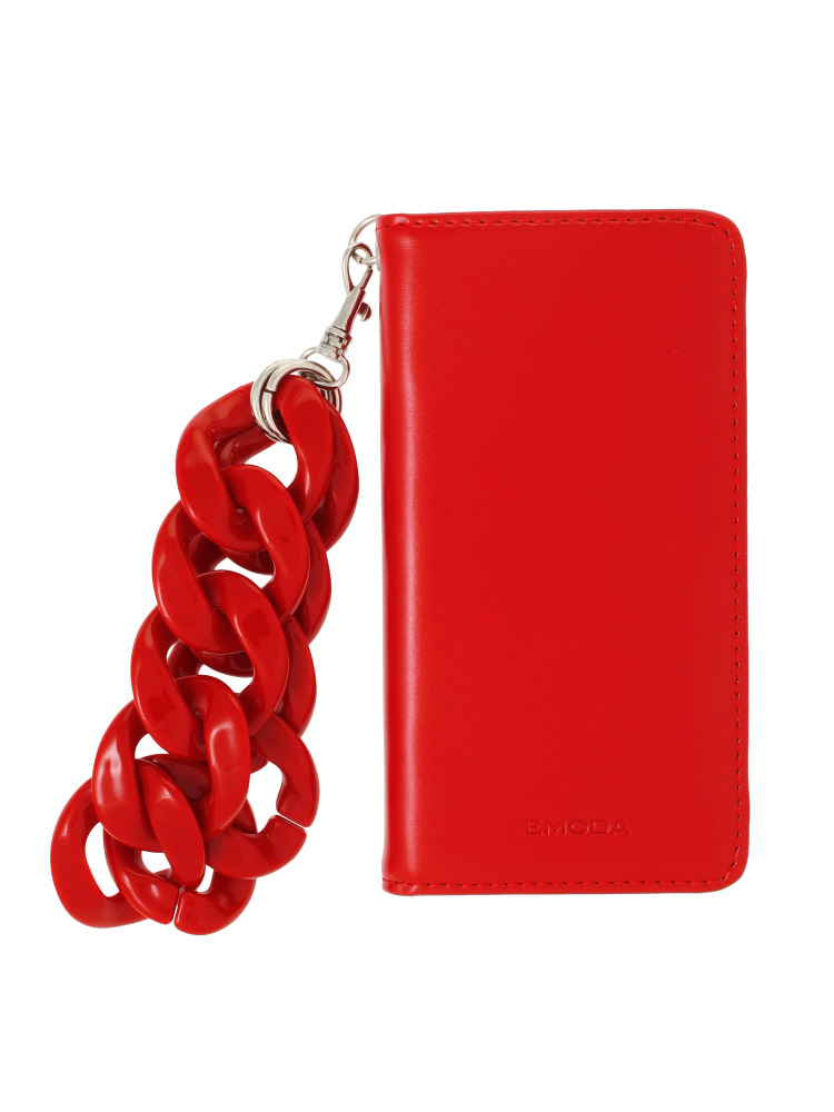 【7対応】Sout I PHONE CASE CHAIN(レッド-F)
