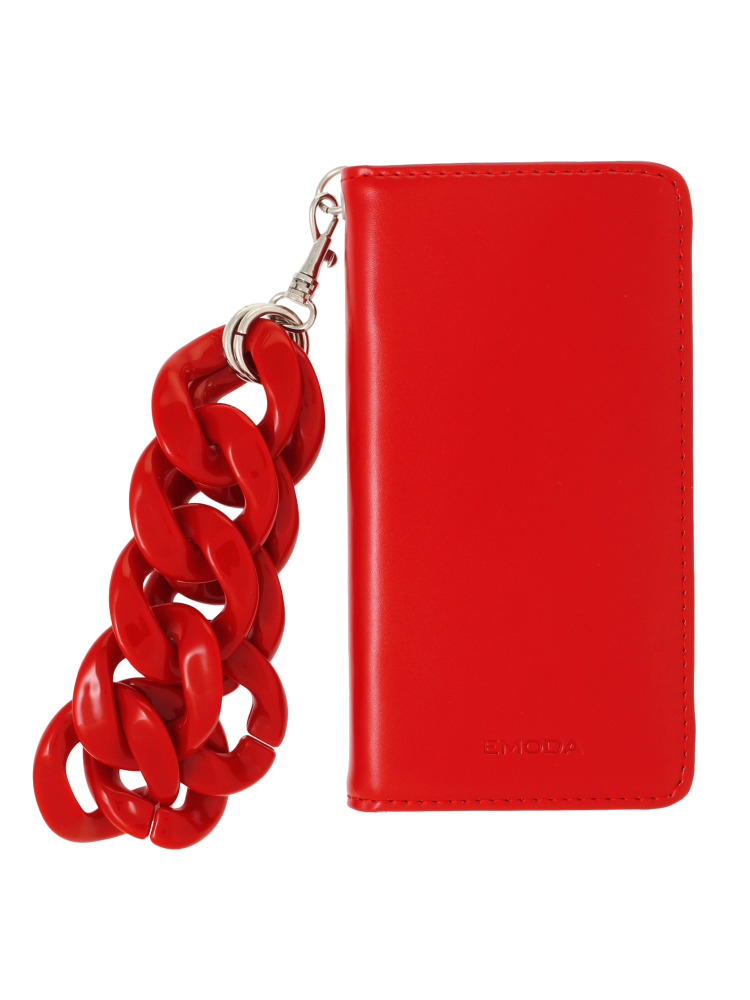 【7+対応】Sout I PHONE CASE CHAIN+(レッド-F)