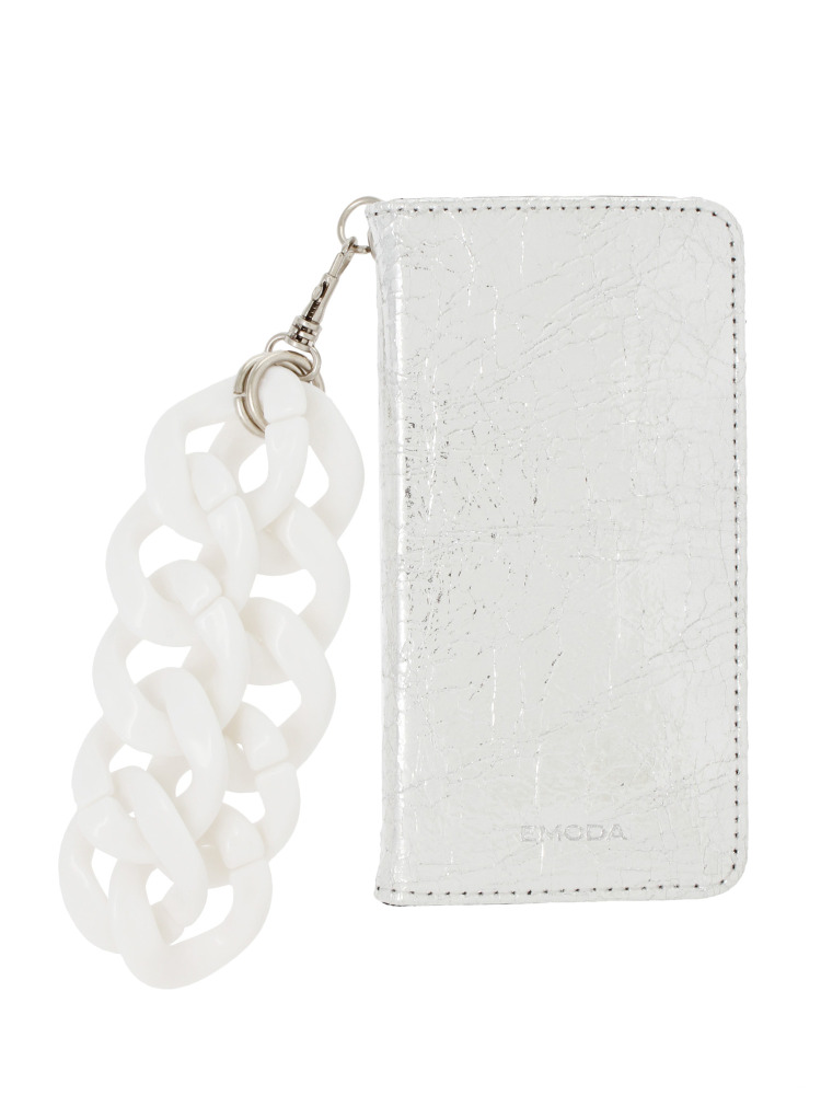 【7+対応】Sout I PHONE CASE CHAIN+(シルバー-F)