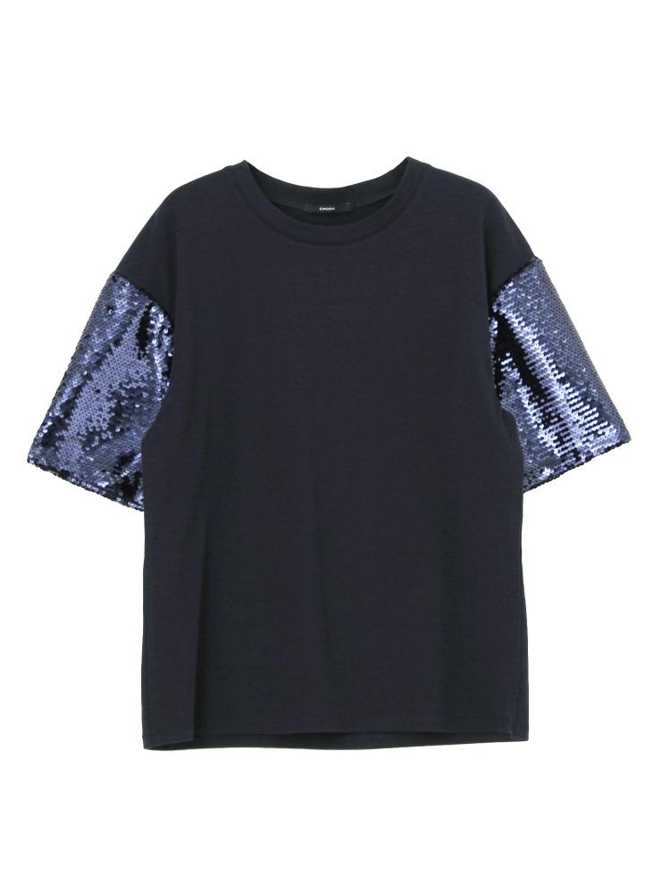 SleeveShinyTシャツ