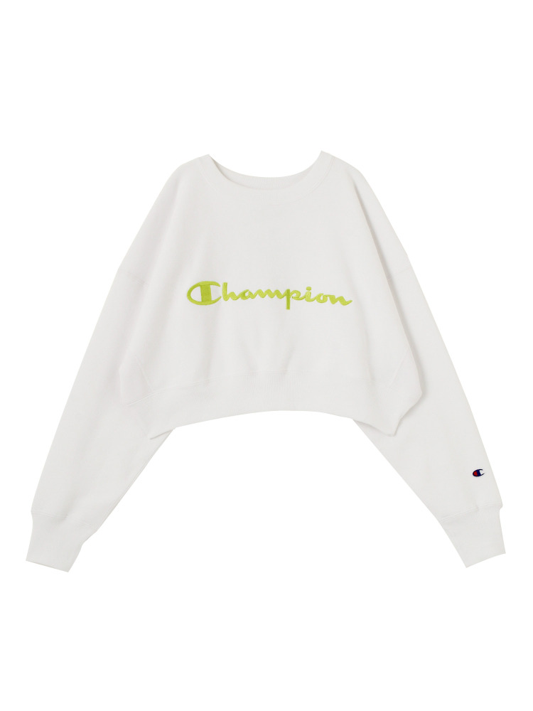 【EMODA×Champion】COMPACT VOLUME TOP(ホワイト-F)