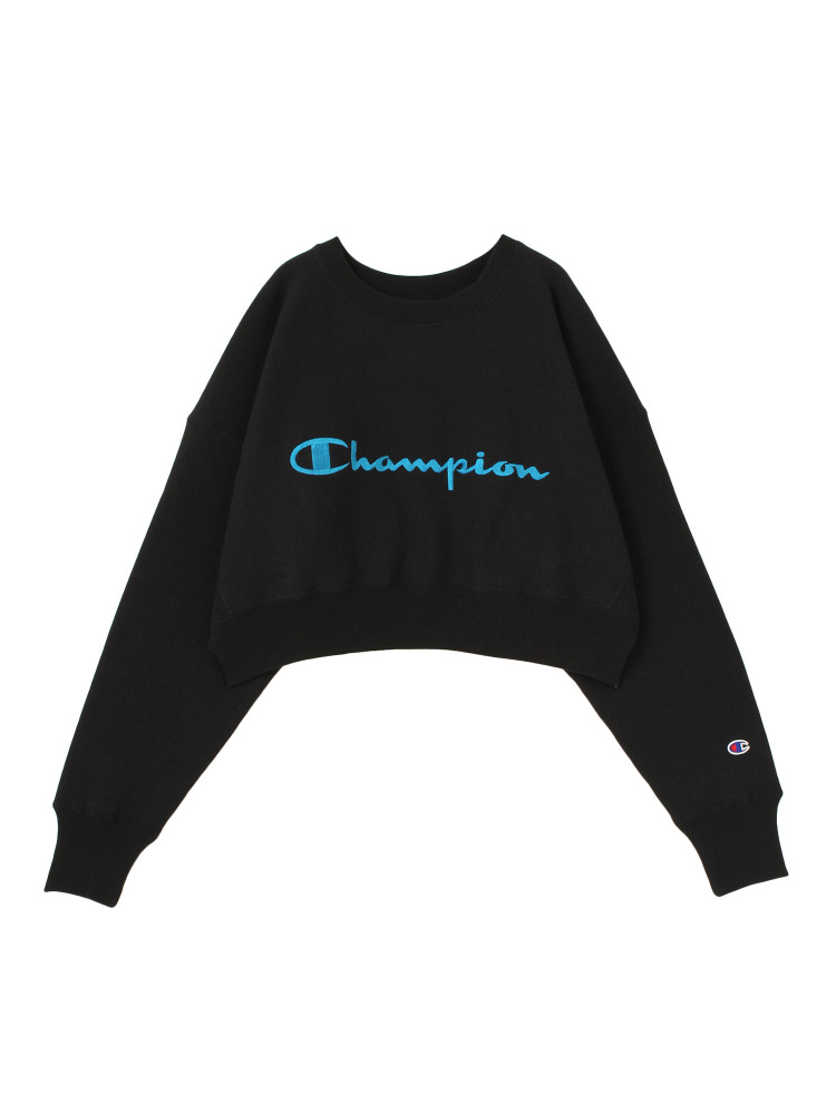 【EMODA×Champion】COMPACT VOLUME TOP(ブラック-F)