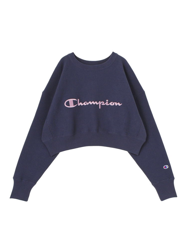 【EMODA×Champion】COMPACT VOLUME TOP(ネイビー-F)