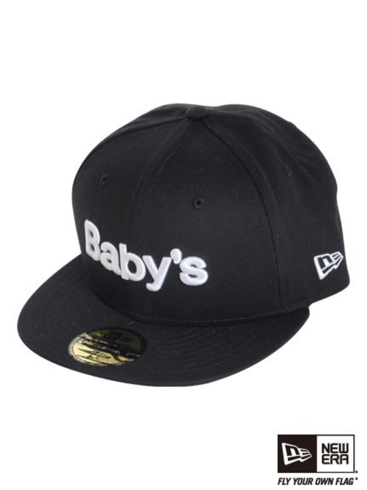 NEW ERA GYDA  Baby'sCAP(ブラック-F)