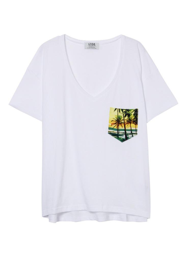 Time BeachポケットT/S(イエロー-F)