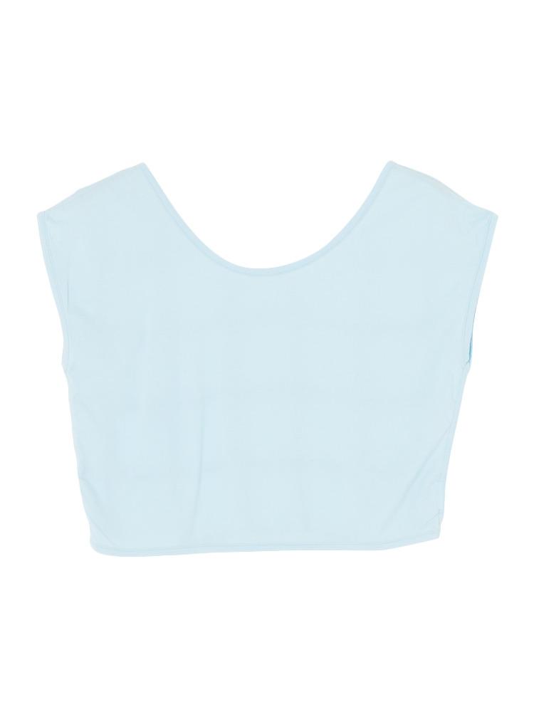BACKバインダーTシャツ(アイスブルー-F)