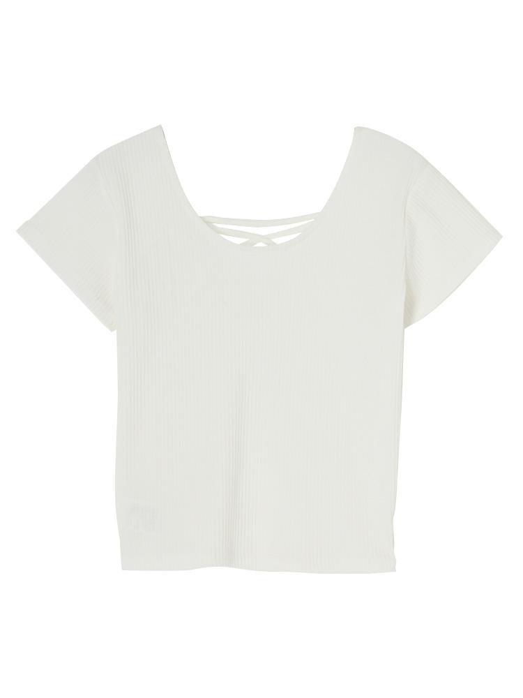 2WAYバインダーTシャツ(オフホワイト-F)