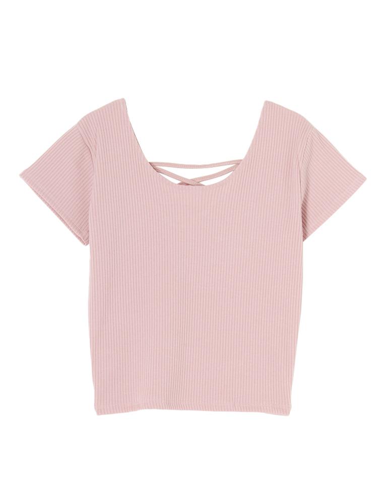 2WAYバインダーTシャツ(ピンク-F)