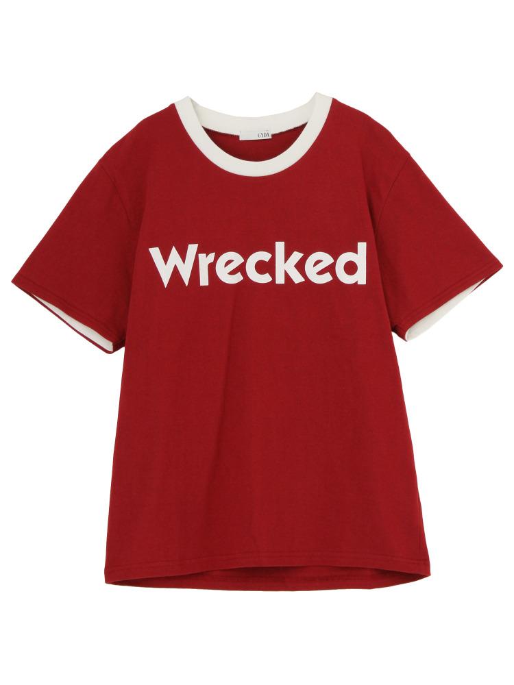 GYDAのWreckedリンガー Tシャツ