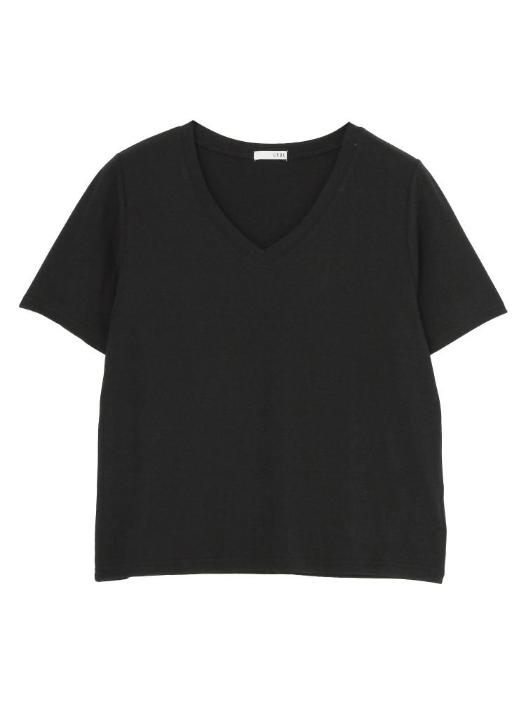 GYDAのガーゼタッチGネックTシャツ