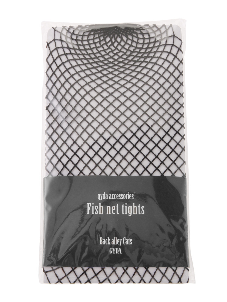 Fishnet tights(ブラック-F)