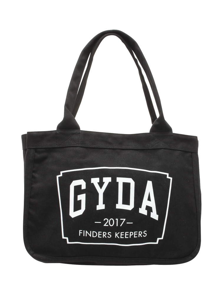 【WEB限定】FINDER KEEPERS トートBAG(ブラック-F)