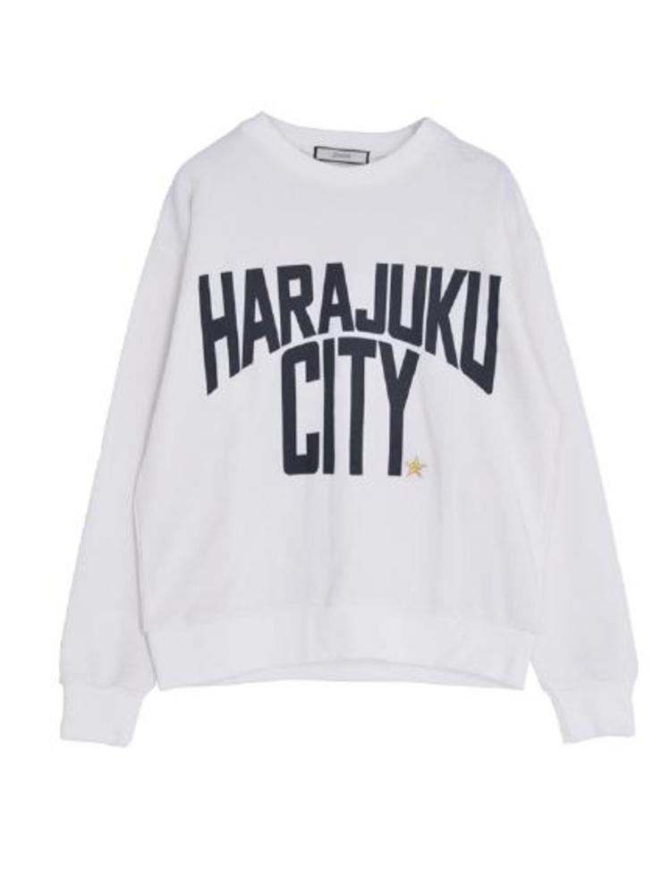 【CASUAL】HARAJUKU CITYトップス(オフホワイト-M)