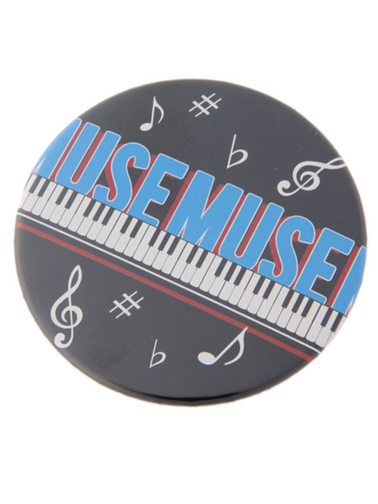 MUSE MUSE 缶バッチ特大(ブラック-F)