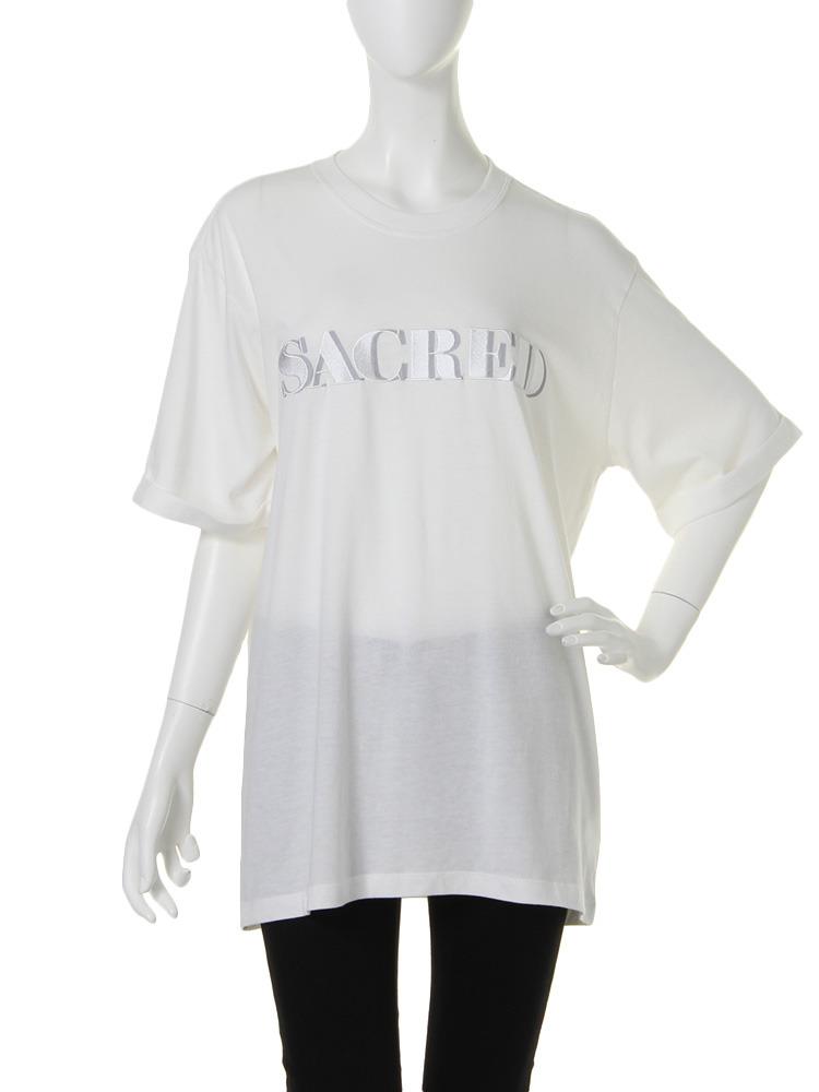 SACRED Tシャツ(オフホワイト-M)