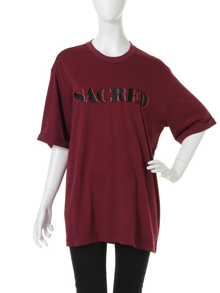 SACRED Tシャツ(ボルドー-M)