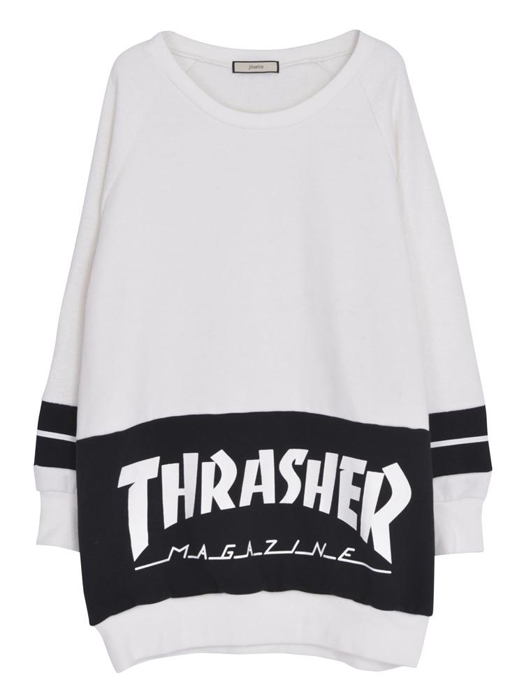 THRASHERコラボラインPO(オフホワイト-M)