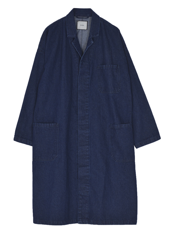 デニムワークジャケット(インディゴ-M)
