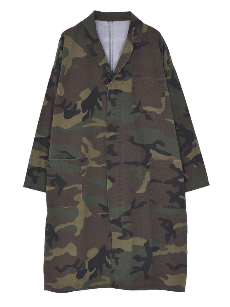 デニムワークジャケット(ミックス-M)
