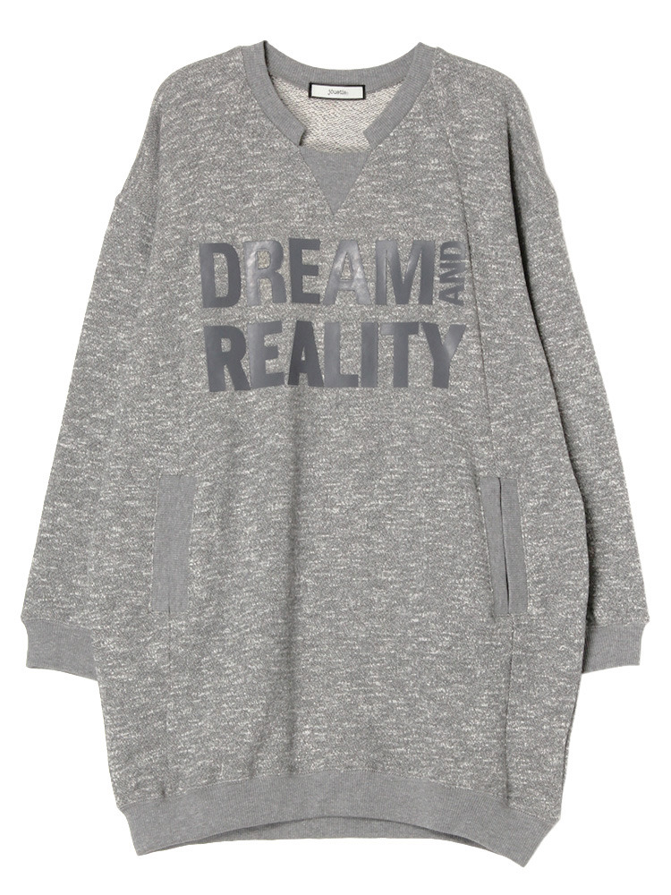 DREAM AND REALITYワンピース(グレー-M)