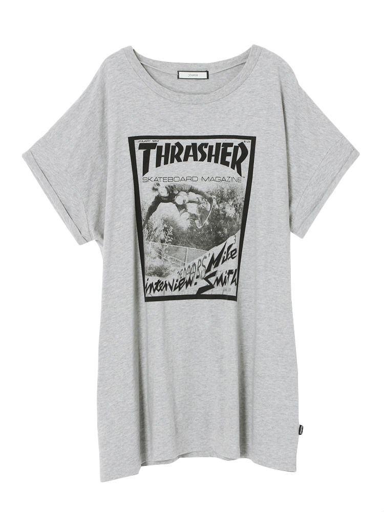 THRASHER MAGAZINE T(グレー-M)
