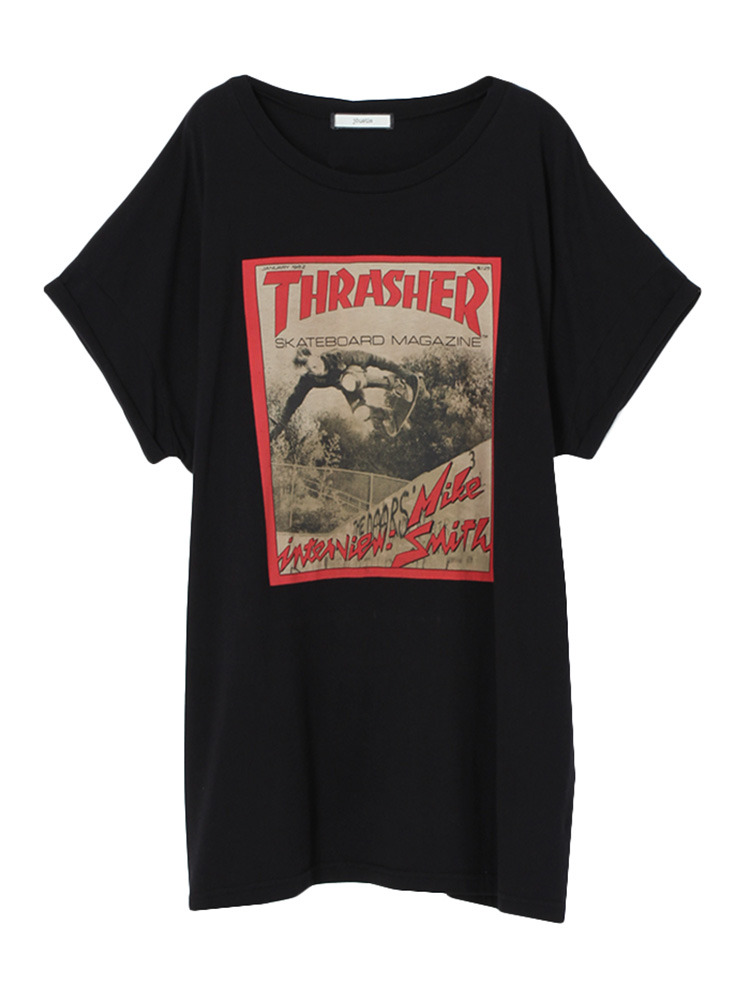 THRASHER MAGAZINE T(ブラック-M)