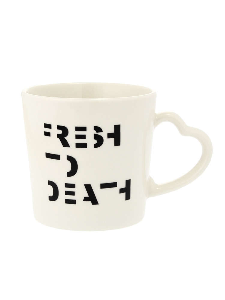 FRESH TO DEATHマグ(オフホワイト-F)