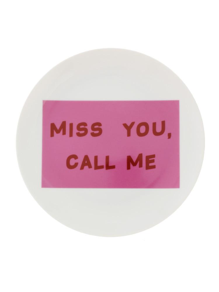 MISS YOU プレート(オフホワイト-F)