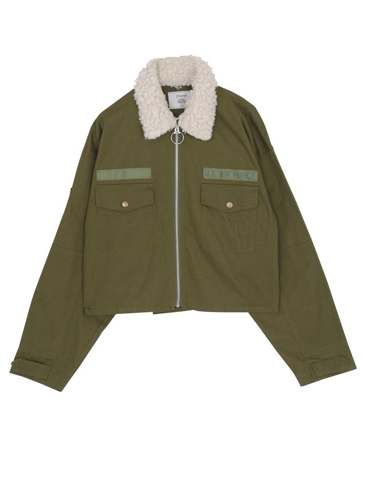 リングジップジャケット(カーキ-M)