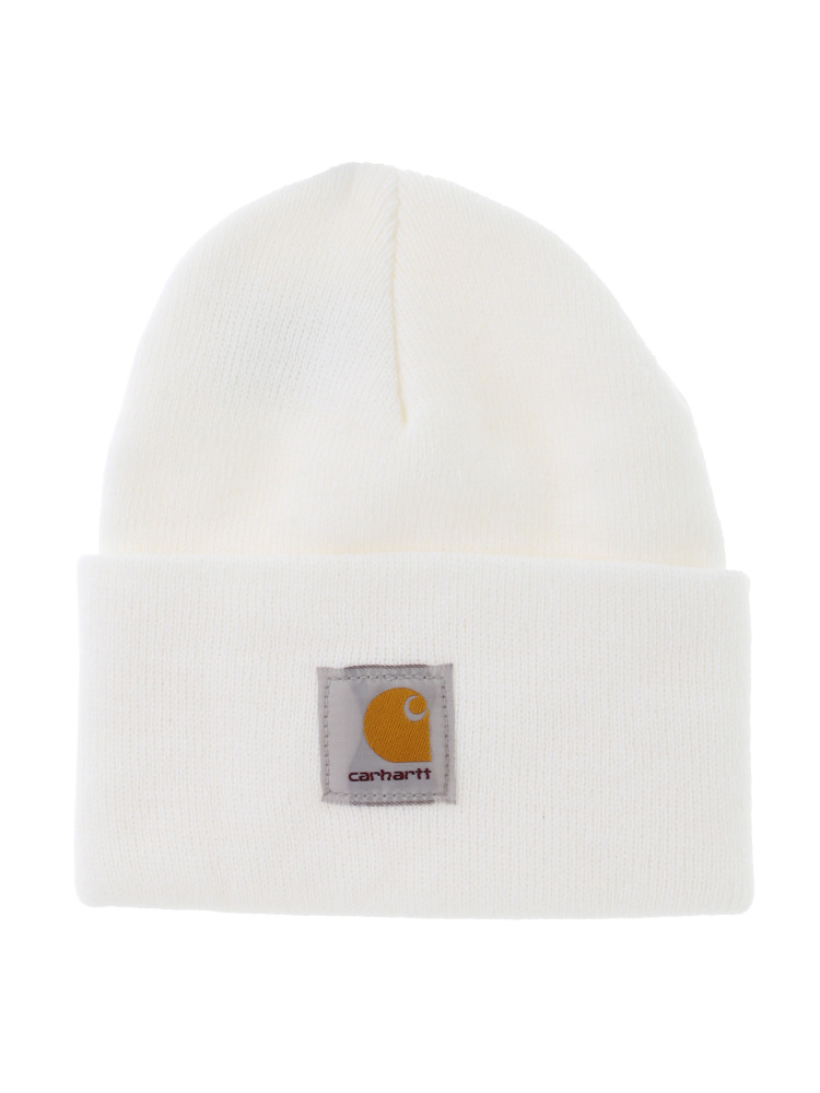 【carhartt】ACRYLIC WATCH HAT(オフホワイト-F)