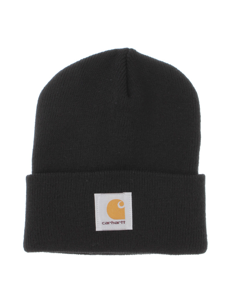 【carhartt】ACRYLIC WATCH HAT(ブラック-F)