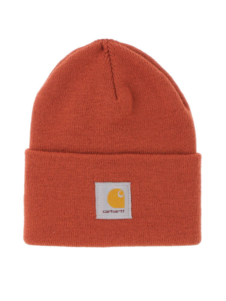 【carhartt】ACRYLIC WATCH HAT(レッド-F)