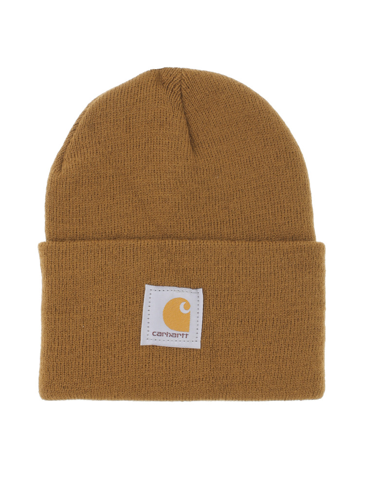 【carhartt】ACRYLIC WATCH HAT(ブラウン-F)