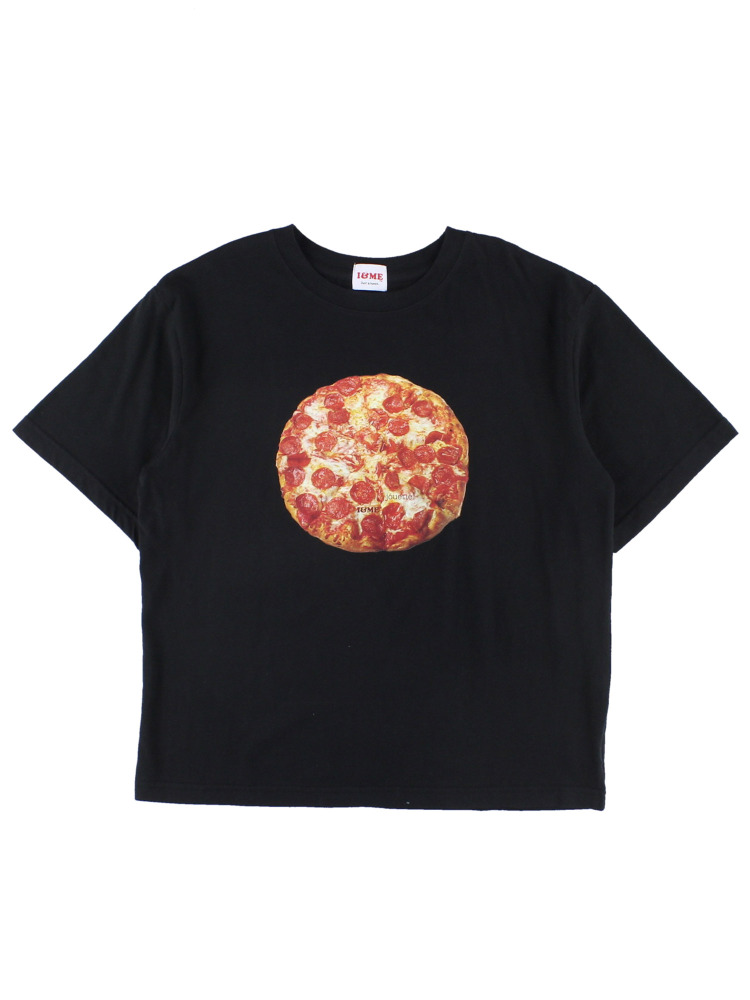 I&ME PIZZATEE for boys(ブラック-M)