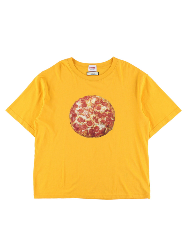I&ME PIZZATEE for boys(オレンジ-M)