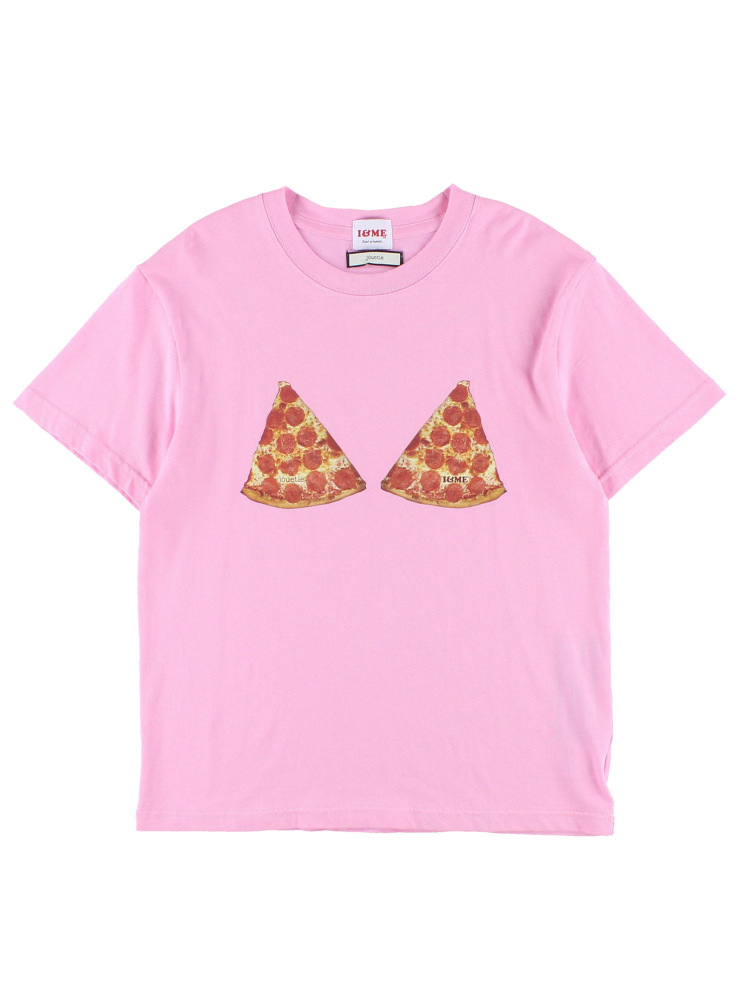 I&ME PIZZATEE for girls(ピンク-M)