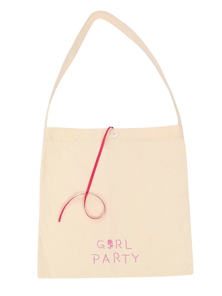 Aymmy×jouetie GIRL PARTY  BAG(オフホワイト-F)