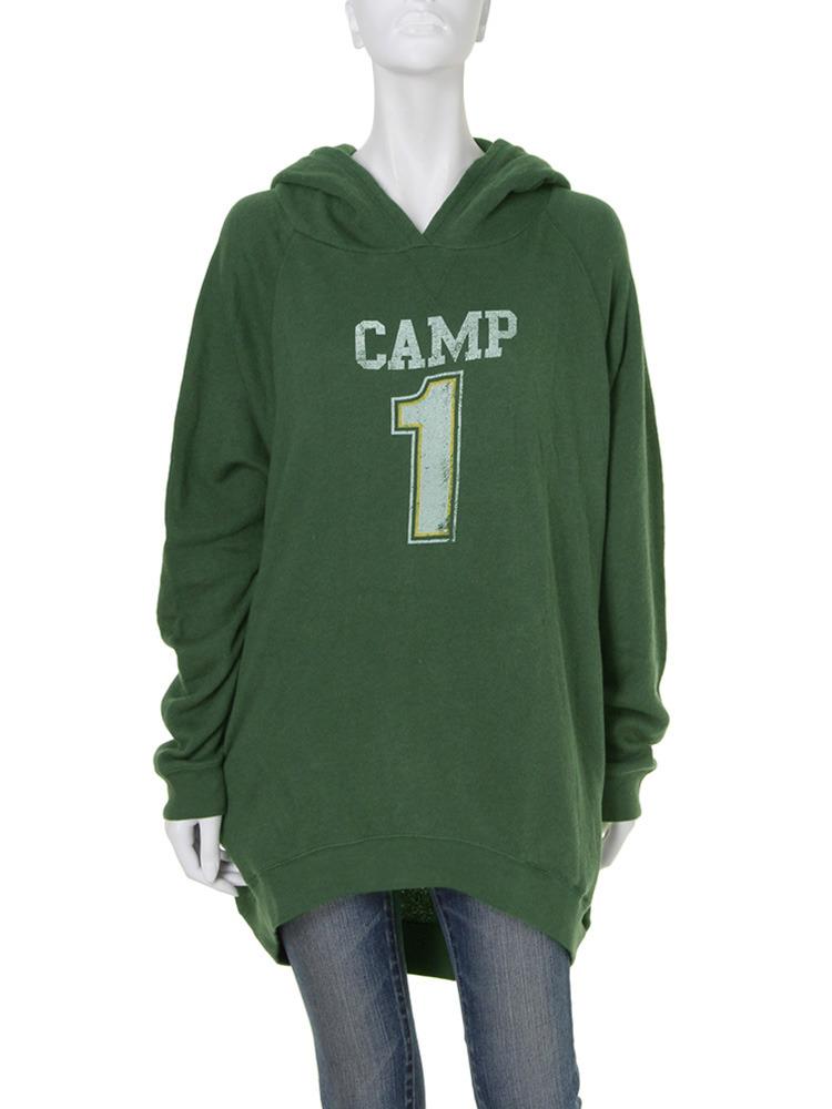 【Casual】CAMP1パイルパーカー(グリーン-F)