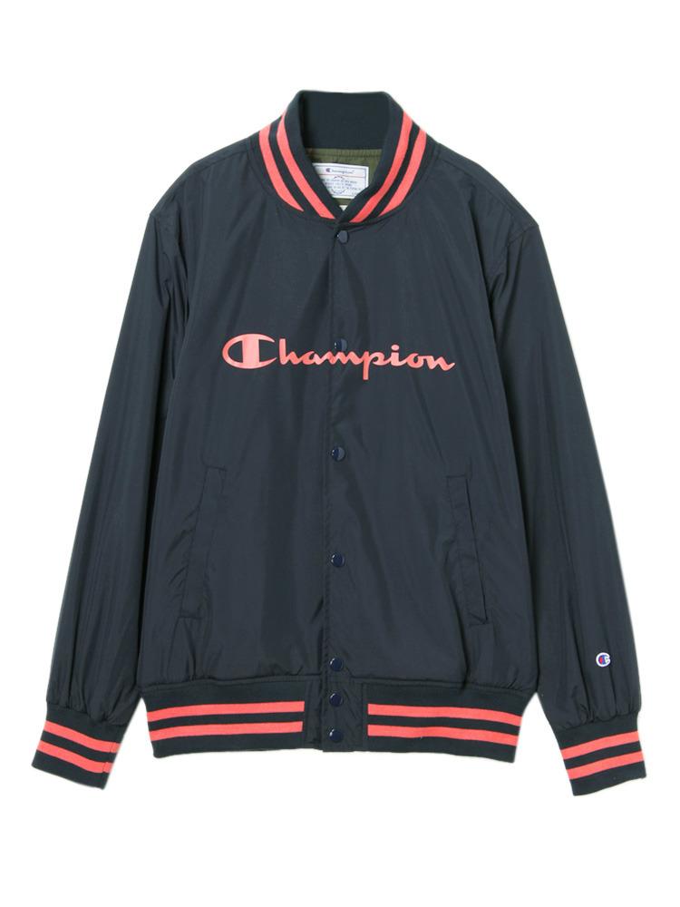 《ViVi,non-no 3月号掲載》【Casual】Championスナップブルゾン(ネイビー-F)